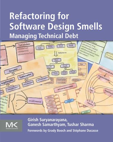 Refactoring for Software Design Smells
